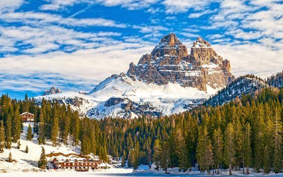 Relax in Spa tra le cime innevate delle Dolomiti