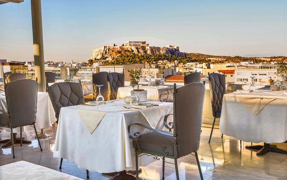Lusso e relax con vista sull'Acropoli