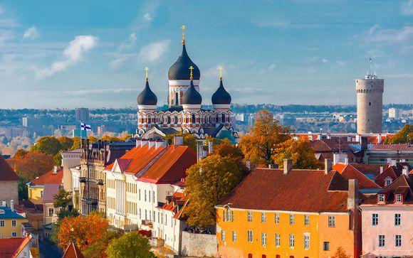 Stile e Design in centro città vicino alla città vecchia e al Parlamento estone