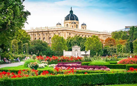 Design hotel nei pressi del Castello e dei giardini botanici