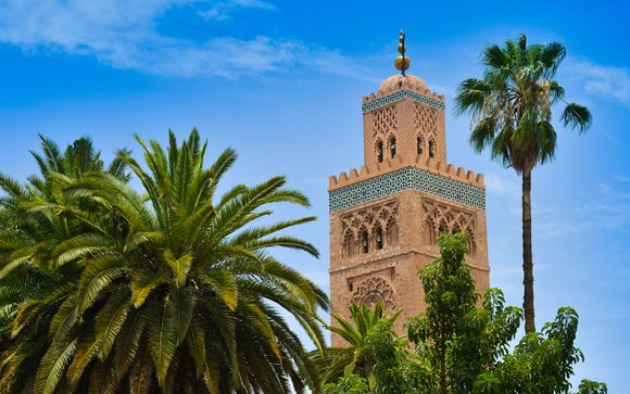 Willkommen in Marrakesch