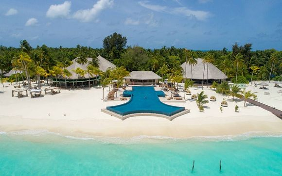 Poussez les portes de l'hôtel Kihaa Maldives Resort & Spa 5*