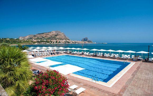 Mezza pensione in resort con spettacolare vista panoramica