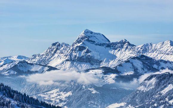 Accogliente hotel con vista sul Monte Bianco