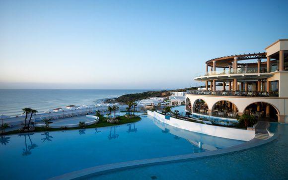 Prestigioso resort fronte mare a sud dell'isola