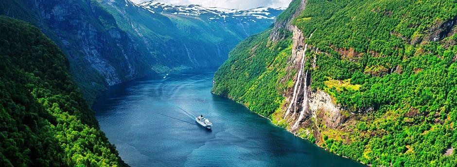 Crociera nei Fiordiin Norvegia