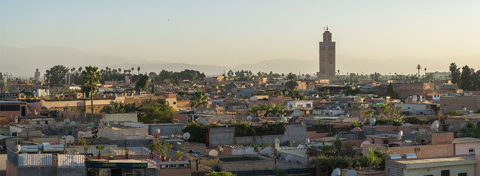 Booking to Marrakech
